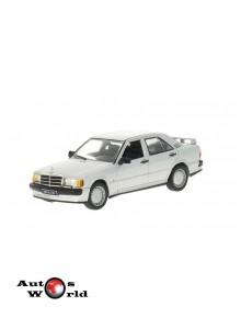 Macheta auto Mercedes 190E 2.3 16V, gri 1988 1:43, 1:43 Whitebox ...