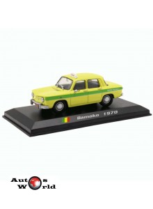 Taxiuri din lumea toata nr.32 - Renault 8 - Bamako 1970, 1:43 Amercom