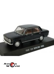 Macheta auto Fiat 124 Berlina Carabinieri 1968, 1:43 Deagostini