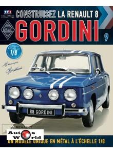Macheta auto Renault 8 Gordini KIT Nr.9, scara 1:8 Eaglemoss