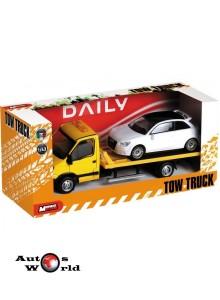 Iveco Daily Platforma auto + masinuta, 1:43 Mondo Motors