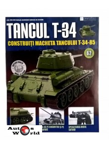 Colectia Tancul Т-34 Nr.62, 1:16 macheta kit de asamblat, Eaglemoss