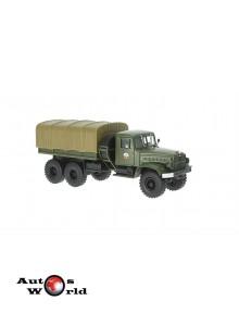 Macheta camion KrAZ 214V B.T verde, 1:43 Special Co