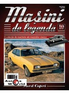 Masini De Legenda Nr.10 - Macheta auto Ford Capri 1969, 1:43 Amercom