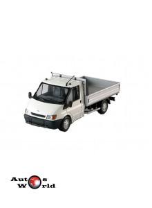 Macheta auto Ford Transit pickup 2001 alb, 1:43 Minichamps
