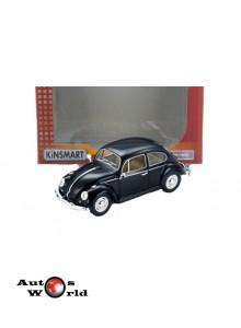 Macheta auto Volkswagen Classic Beetle negru 1967, 1:24 Kinsmart