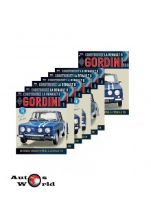 Abonament Macheta auto Renault 8 Gordini KIT Nr.1-10, scara 1:8 Eaglemoss