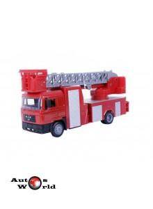Macheta camion MAN F2000 interventii pompieri, 1:43 Newray