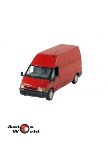 Macheta auto Ford Transit van 2001 rosu, 1:43 Minichamps
