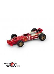 Macheta auto Ferrari 312 F1 G.P. Monte Carlo 1969 Amon, 1:43 Brumm