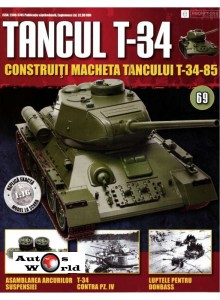 Colectia Tancul Т-34 Nr.69, 1:16 macheta kit de asamblat, Eaglemoss