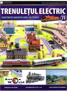 Colectia Trenuletul Electric Nr.71 diorama, Eaglemoss