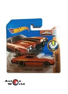 Macheta auto Ford Gran Torino '72, 1:64 Hotwheels