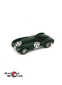 Macheta auto Jaguar C Type LeMans 1951 MOSS-FAIRMAN, 1:43 Brumm