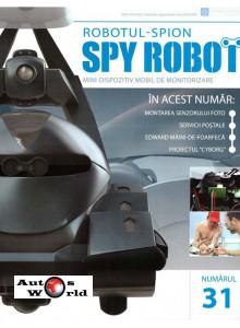 Colectia Spy Robot Nr 31 Kit de asamblat, Eaglemoss