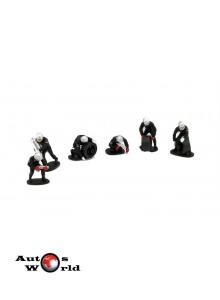 Figurine: Set 6 mecanici pit stop, 1:43 Ixo