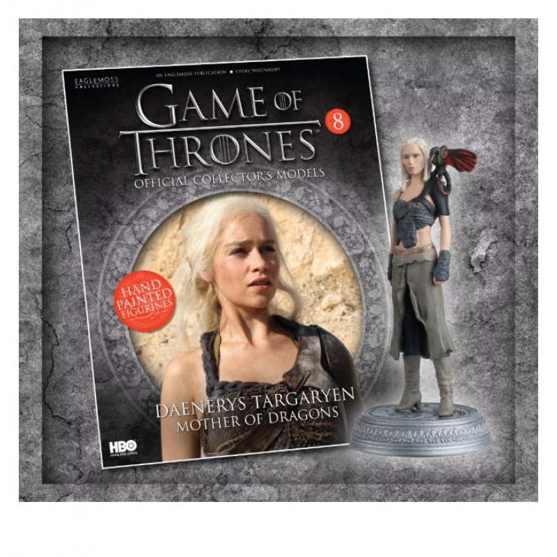 Game of Thrones - Nr. 8: Daenerys Targaryen (Dothraki), Eaglemoss