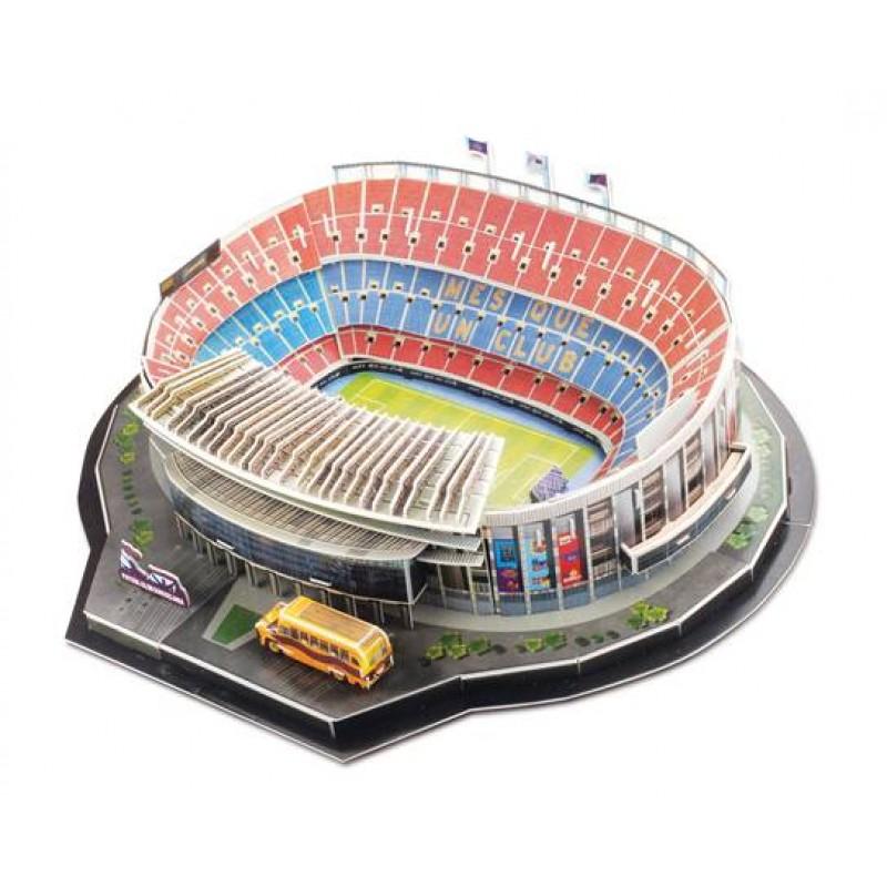 Colectie Puzzle 3D Stadioane de Poveste: Stadionul Camp Nou part 1, Fanatik