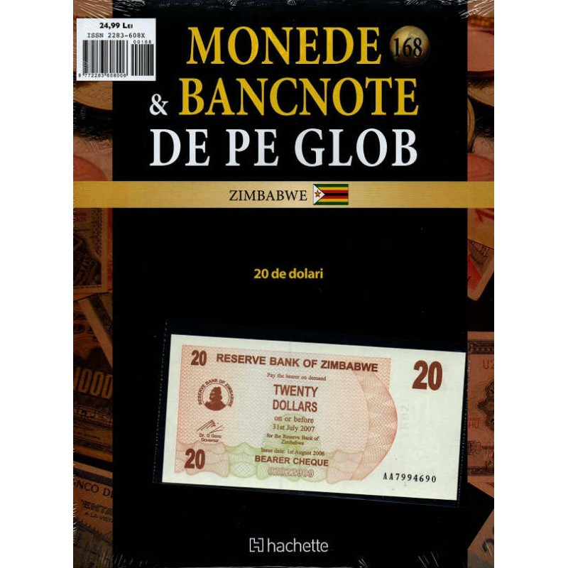 Monede Si Bancnote De Pe Glob Nr.168, Hachette