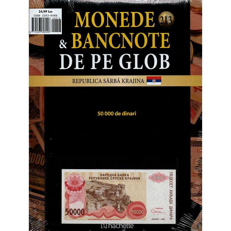 Monede Si Bancnote De Pe Glob Nr.213, Hachette