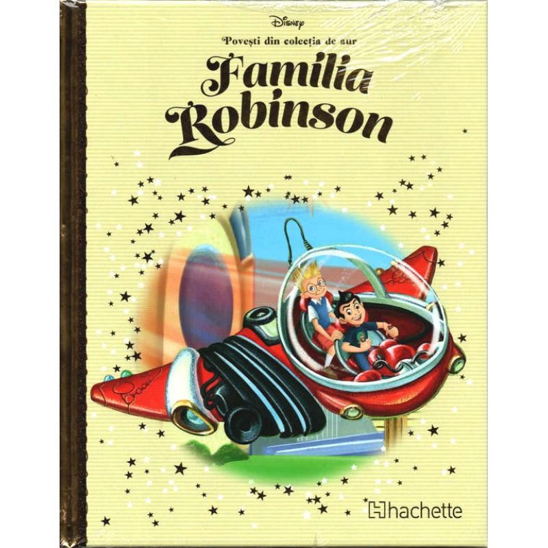 Carte Povesti din colectia de aur Disney Nr.72 - Familia Robinson, Hachette