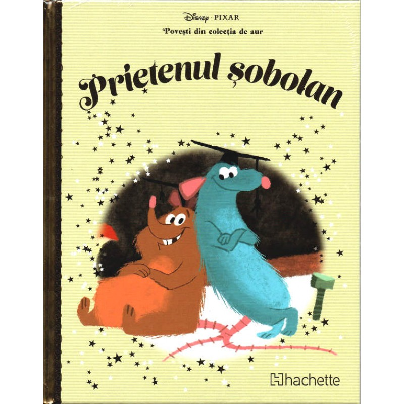 Carte Povesti din colectia de aur Disney Nr.73 - Prietenul Sobolan, Hachette