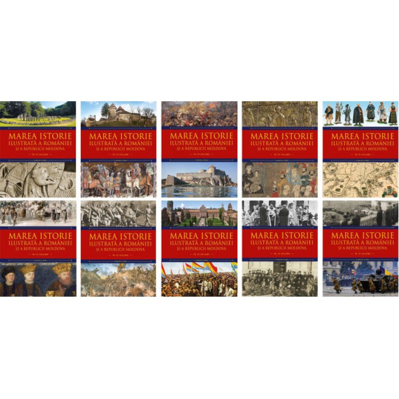 Carte Marea istorie ilustrata a Romaniei si a Republicii Moldova vol.6, Litera