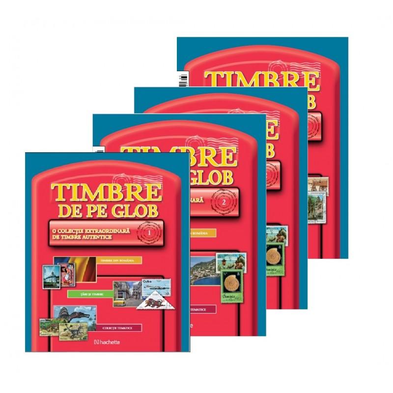 Abonament Colectia Timbre de pe Glob Nr.prezent-100, Hachette