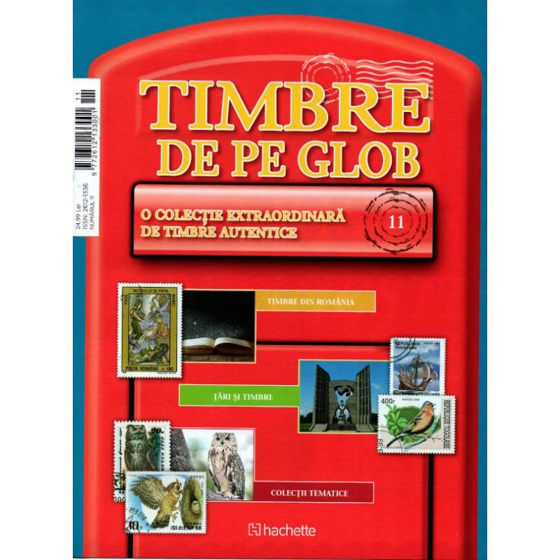 Timbre de pe Glob Nr.11, Hachette