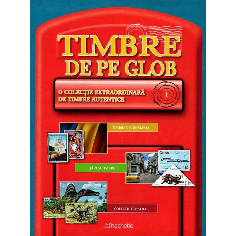 Timbre de pe Glob Nr.01 , Hachette