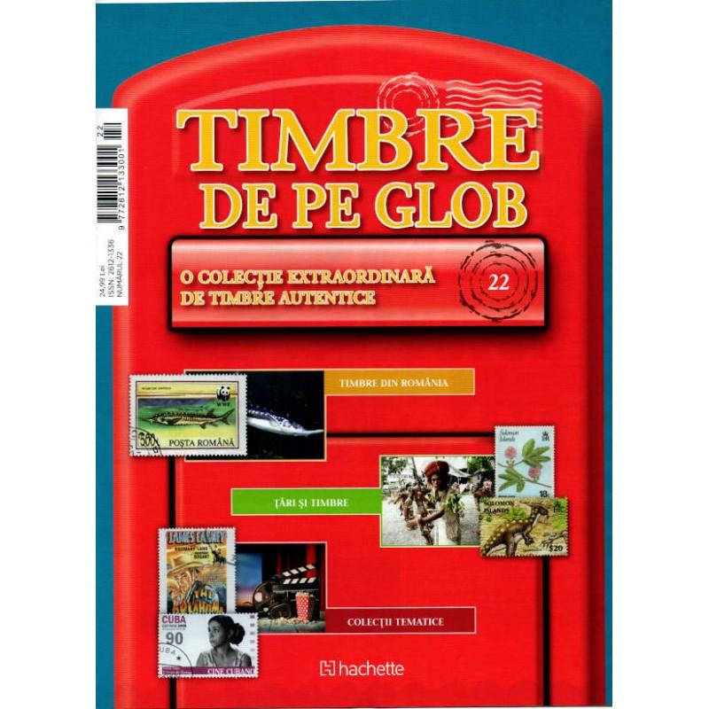 Timbre de pe Glob Nr.22, Hachette
