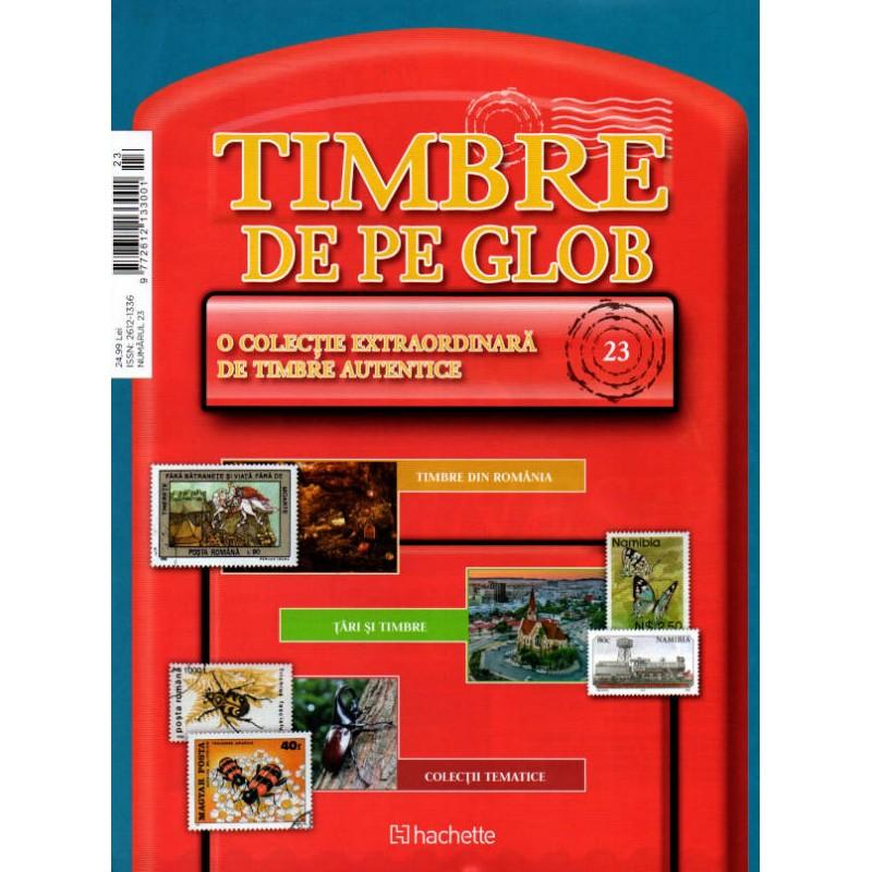 Timbre de pe Glob Nr.23, Hachette