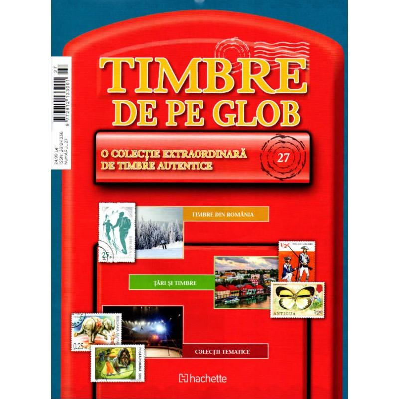 Timbre de pe Glob Nr.27, Hachette