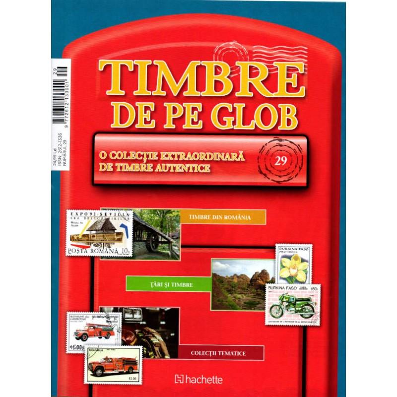Timbre de pe Glob Nr.29, Hachette