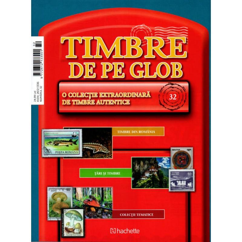 Timbre de pe Glob Nr.32, Hachette
