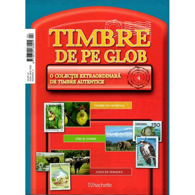 Timbre de pe Glob Nr.04 , Hachette