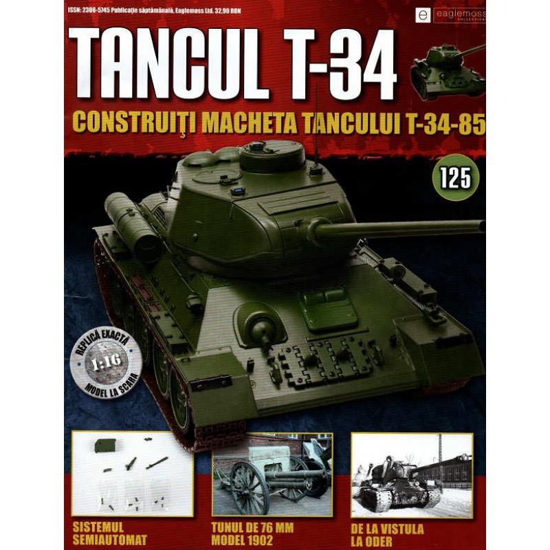 Colectia Tancul Т-34 Nr.125, 1:16 macheta kit de asamblat, Eaglemoss