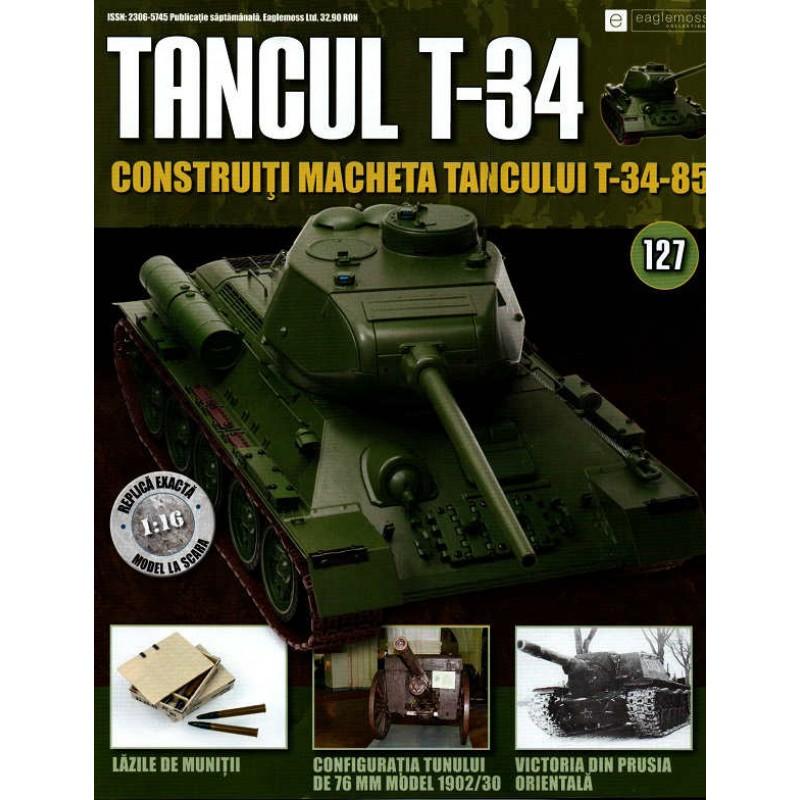 Colectia Tancul Т-34 Nr.127, 1:16 macheta kit de asamblat, Eaglemoss