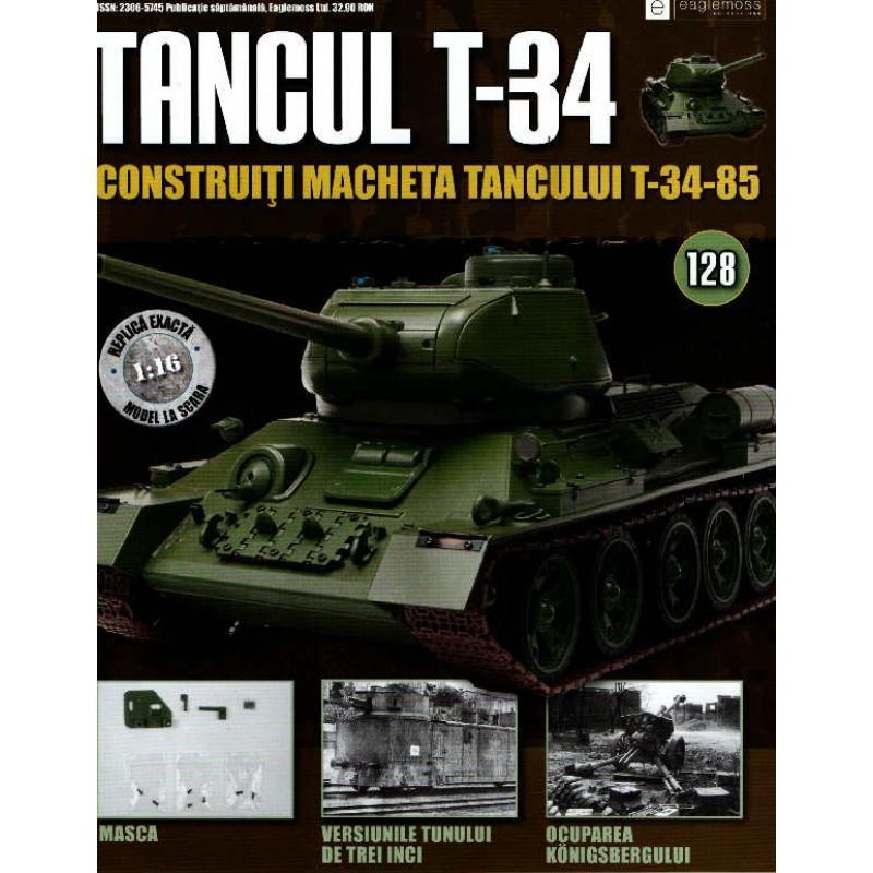 Colectia Tancul Т-34 Nr.128, 1:16 macheta kit de asamblat, Eaglemoss