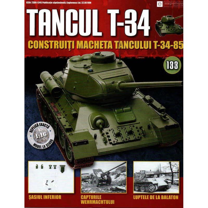 Colectia Tancul Т-34 Nr.133, 1:16 macheta kit de asamblat, Eaglemoss