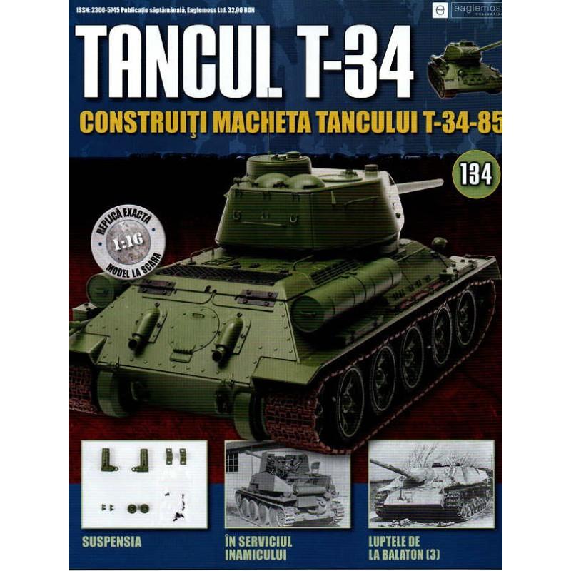 Colectia Tancul Т-34 Nr.134, 1:16 macheta kit de asamblat, Eaglemoss