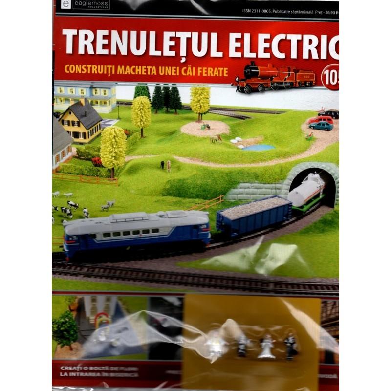 Colectia Trenuletul Electric Nr.105 diorama, Eaglemoss