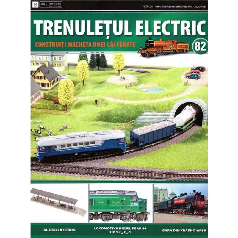 Colectia Trenuletul Electric Nr.82 diorama, Eaglemoss