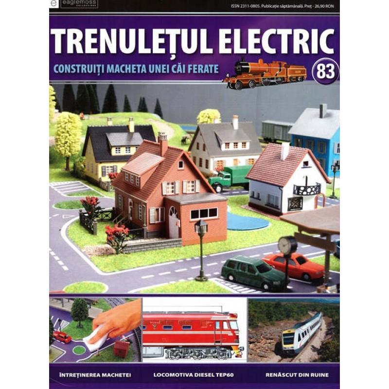 Colectia Trenuletul Electric Nr.83 diorama, Eaglemoss