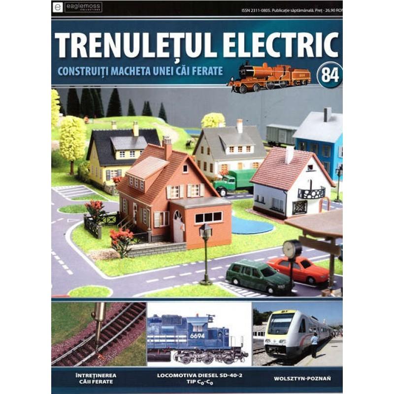 Colectia Trenuletul Electric Nr.84 diorama, Eaglemoss