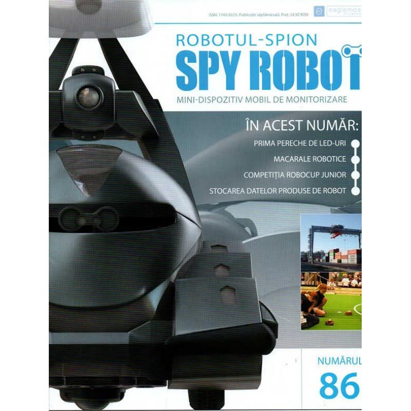 Colectia Spy Robot Nr 86 Kit de asamblat, Eaglemoss