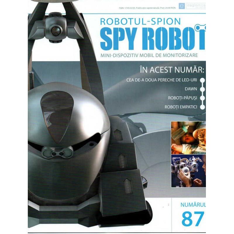 Colectia Spy Robot Nr 87 Kit de asamblat, Eaglemoss