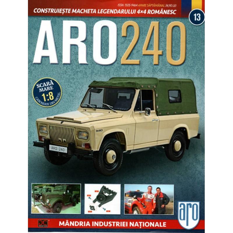 Macheta auto ARO 240 KIT Nr.13 - elemente suspensie, scara 1:8 Eaglemoss
