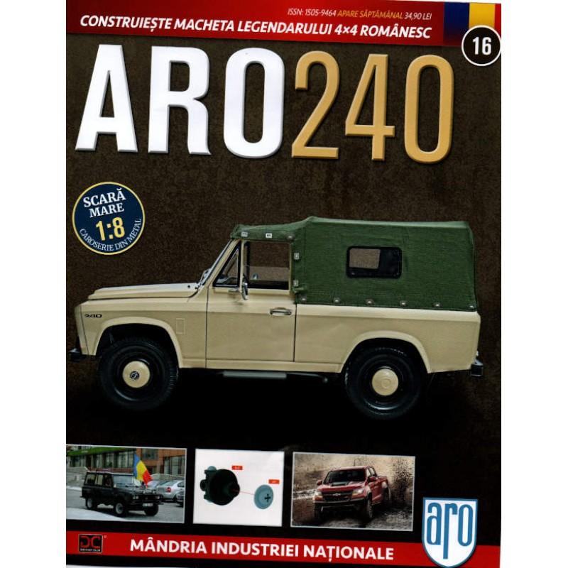 Macheta auto ARO 240 KIT Nr.16 - elemente transmisie, scara 1:8 Eaglemoss