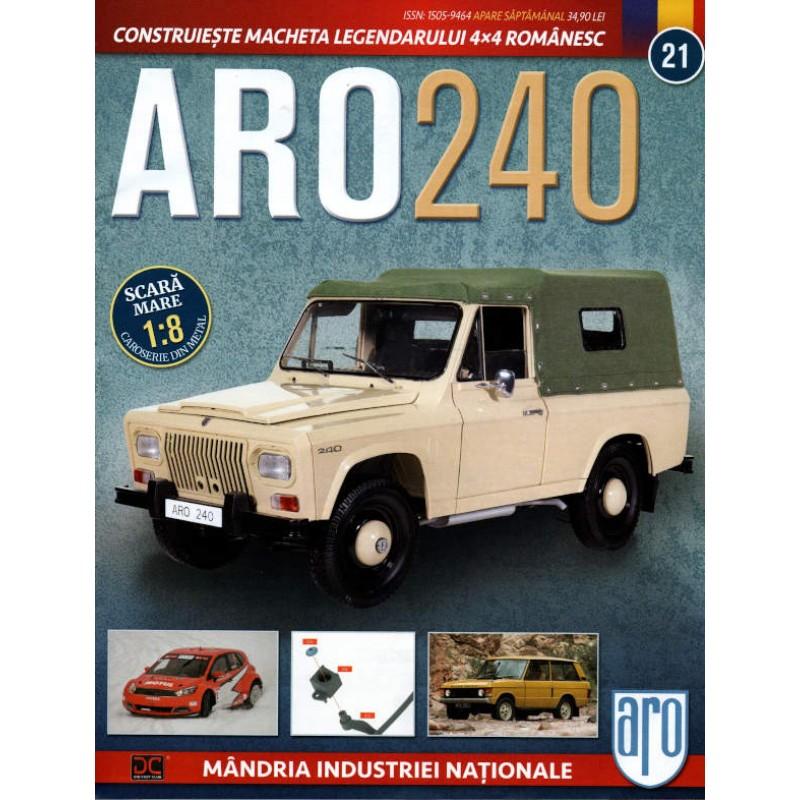 Macheta auto ARO 240 KIT Nr.21 - elemente directie, scara 1:8 Eaglemoss